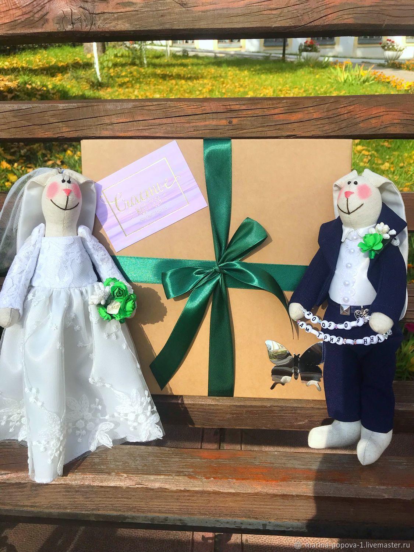 Подарок на свадьбу, Свадебные Зайцы, подарок на годовщину, Подарки, Киров,  Фото №1