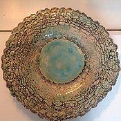 Посуда ручной работы. Ярмарка Мастеров - ручная работа Блюдо Морские сети. Handmade.
