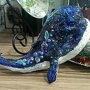 Для дома и интерьера handmade. Livemaster - original item The star whale. Figure. Room decoration. interior toy.. Handmade.