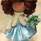 Мягкие игрушки ручной работы. Ярмарка Мастеров - ручная работа Текстильная, интерьерная кукла Джулия. Handmade.