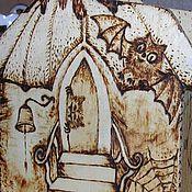 """Сувениры и подарки ручной работы. Ярмарка Мастеров - ручная работа копилка деревянная """"Дом с привидениями"""". Handmade."""