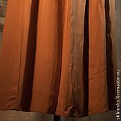 Одежда ручной работы. Ярмарка Мастеров - ручная работа юбка штапельная кремовая. Handmade.