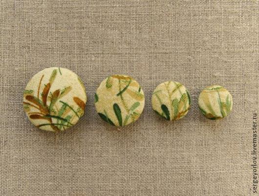 Шитье ручной работы. Ярмарка Мастеров - ручная работа. Купить Бамбуковые. Handmade. Болотный, материалы для украшений, материалы для скрапа