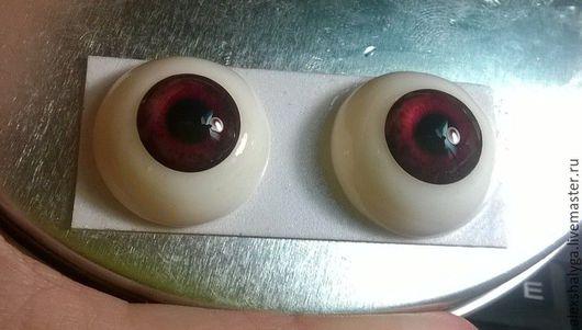 Глазки для кукол и игрушек с возможностью обжига № 175 ,   20мм. -1 пара  600 рублей за пару