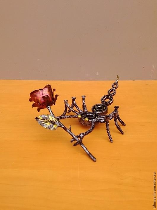 Приколы ручной работы. Ярмарка Мастеров - ручная работа. Купить скорпион. Handmade. Скорпион, знаки зодиака, карандашница, сувениры из подшипников