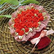 Украшения handmade. Livemaster - original item Brooch bouquet, three motives. Handmade.