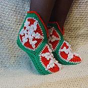 Обувь ручной работы handmade. Livemaster - original item Boots knitted