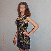 Одежда ручной работы. Ярмарка Мастеров - ручная работа коктельное платье. Handmade.