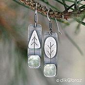 Украшения handmade. Livemaster - original item Earrings made of silver