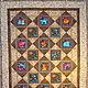 Текстиль, ковры ручной работы. Комплект одеяло и две подушки в лоскутной технике. Мария Леуш (catavisha). Ярмарка Мастеров. Пэчворк