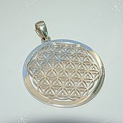 Фен-шуй и эзотерика handmade. Livemaster - original item The flower of Life (40mm). Handmade.