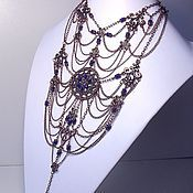 Украшения handmade. Livemaster - original item Princess Indigo. Necklace.. Handmade.