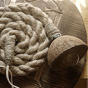 Для дома и интерьера ручной работы. Ярмарка Мастеров - ручная работа Эко лампа-переноска с большим потенциалом творческого применения.. Handmade.