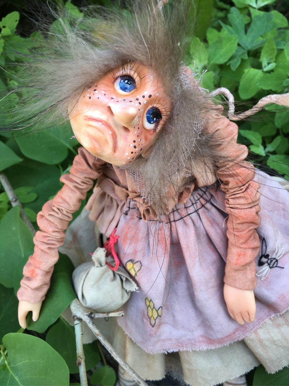 Коллекционные куклы ручной работы. Ярмарка Мастеров - ручная работа. Купить Моль...любящая мёд. Handmade. Лето, разнообразные