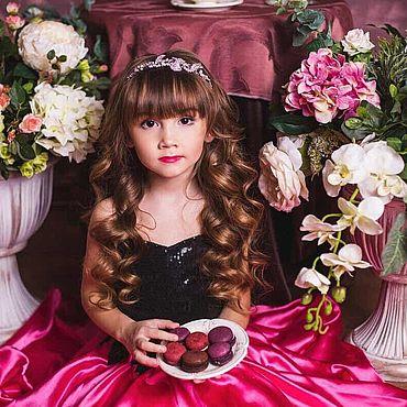 Одежда ручной работы. Ярмарка Мастеров - ручная работа Платья: Мармеладка (29-05). Handmade.