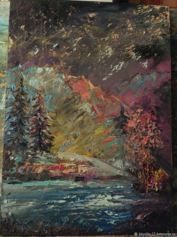 Звездопад в горах, Картины, Химки,  Фото №1