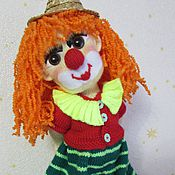 Куклы и игрушки handmade. Livemaster - original item clown toffee. Handmade.