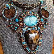 """Украшения ручной работы. Ярмарка Мастеров - ручная работа Колье """"Мaya"""". Handmade."""