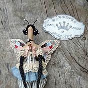 Куклы и игрушки ручной работы. Ярмарка Мастеров - ручная работа кукла тильда ручной работы БАБОЧКА 2. Handmade.