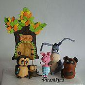 Подарки к праздникам ручной работы. Ярмарка Мастеров - ручная работа Фигурки на торт из мультиков. Handmade.