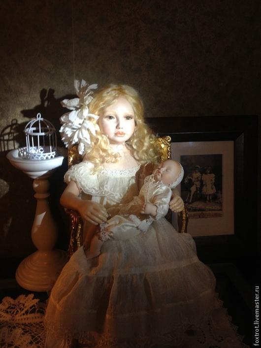 Коллекционные куклы ручной работы. Ярмарка Мастеров - ручная работа. Купить авторская фарфоровая кукла. Handmade. Фарфоровая кукла