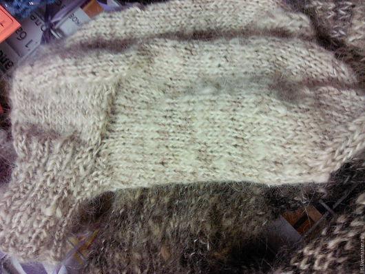 Для мужчин, ручной работы. Ярмарка Мастеров - ручная работа. Купить носки собачьей шерсти. Handmade. Шерсть, носки, жилет