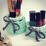 Для дома и интерьера handmade. Livemaster - original item A set of baskets