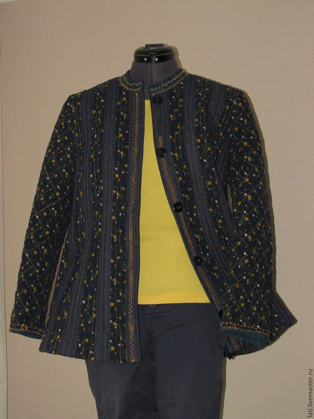 Стеганая куртка своими руками фото 586