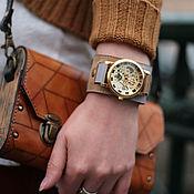 Украшения handmade. Livemaster - original item Watch wrist Twice. Handmade.