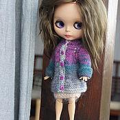 Куклы и игрушки ручной работы. Ярмарка Мастеров - ручная работа Вязаное пальто  для куклы Блайз. Handmade.