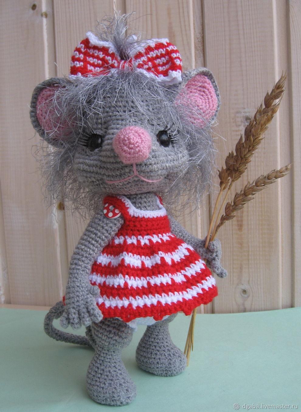 мастер класс мышка манюня вязание крючком купить в интернет