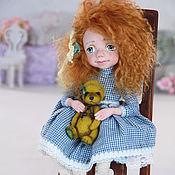 """Куклы и игрушки ручной работы. Ярмарка Мастеров - ручная работа Авторская кукла """"Аксинья"""". Handmade."""