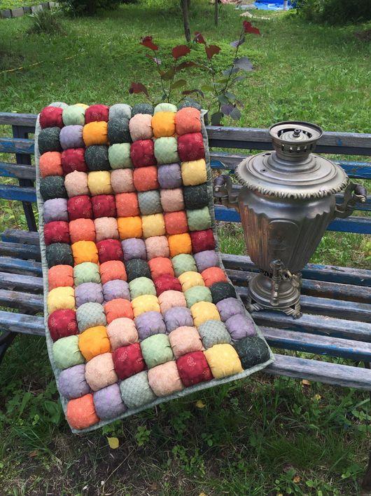 Текстиль, ковры ручной работы. Ярмарка Мастеров - ручная работа. Купить Подушки-Сидушки для кресла Октябрь 2 штуки. Handmade.