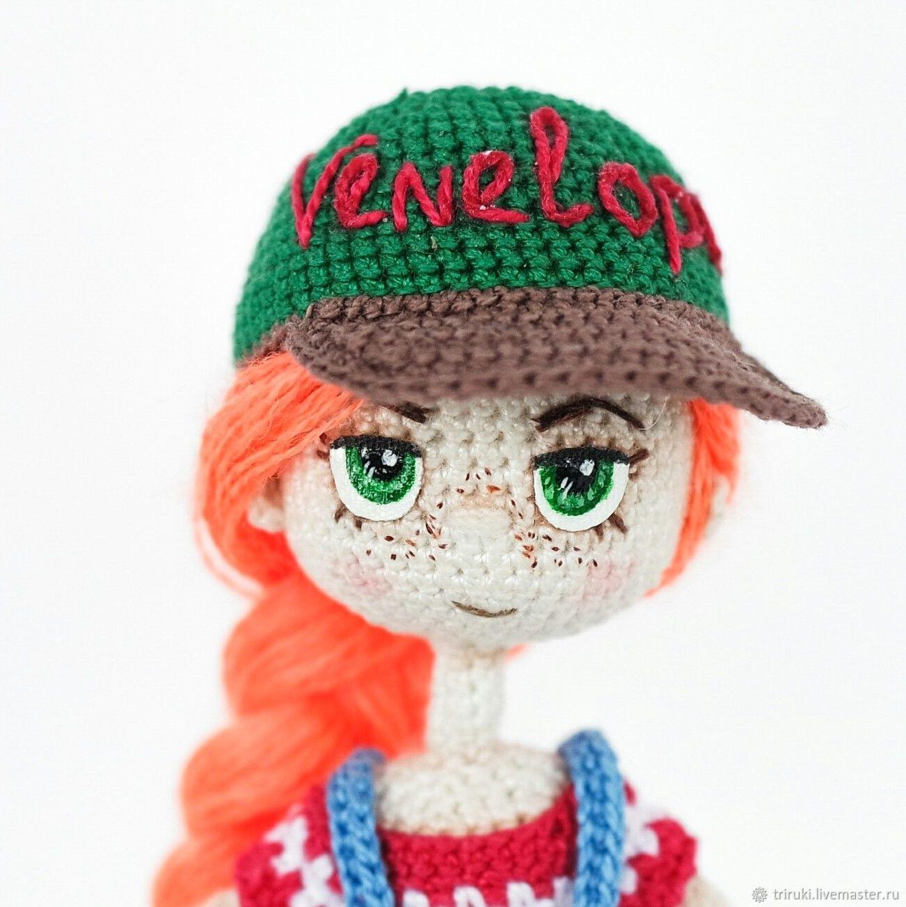 Master class 'baseball Cap' (description of knitting, Knitting patterns, Korolev,  Фото №1