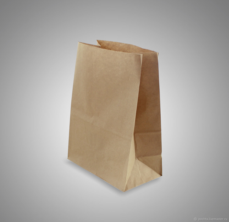 Крафт пакет без ручек, Упаковка, Москва, Фото №1