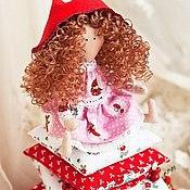 Куклы и игрушки ручной работы. Ярмарка Мастеров - ручная работа Красная Шапочка - принцесса на горошине))). Handmade.