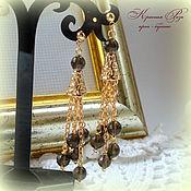 Украшения handmade. Livemaster - original item Earrings Topaz. Handmade.