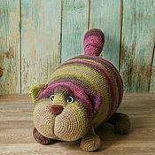 Куклы и игрушки handmade. Livemaster - original item Cat Bonehead. Toy pillow. Handmade.