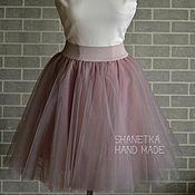 Одежда handmade. Livemaster - original item The skirt is tutu of soft tulle the sun for adults. Handmade.
