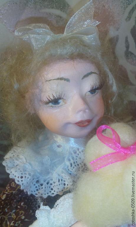 Коллекционные куклы ручной работы. Ярмарка Мастеров - ручная работа. Купить Сонечка. Handmade. Разноцветный, кукольные аксессуары, папье-маше