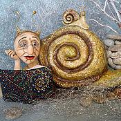 """Куклы и игрушки ручной работы. Ярмарка Мастеров - ручная работа Арт кукла """"Время собирать камни"""". Handmade."""