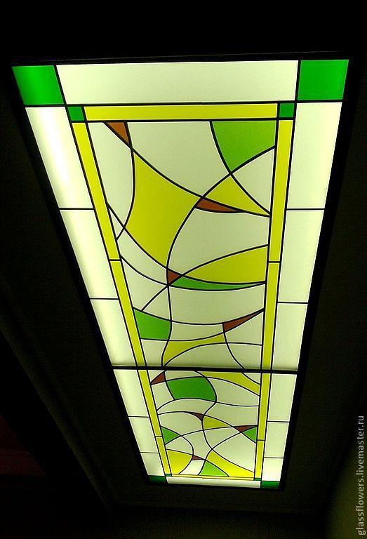 Абстракция. Потолочный Витраж, Витражи, Санкт-Петербург,  Фото №1