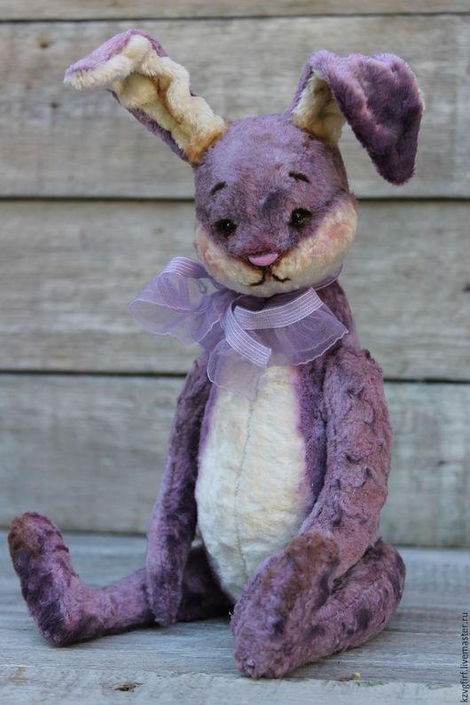 Мишки Тедди ручной работы. Ярмарка Мастеров - ручная работа. Купить Зай Сир. Handmade. Сиреневый, плюш