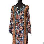 Одежда ручной работы. Ярмарка Мастеров - ручная работа Шелковое платье-туника. Handmade.