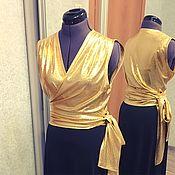 Одежда ручной работы. Ярмарка Мастеров - ручная работа Блуза «Злата». Handmade.