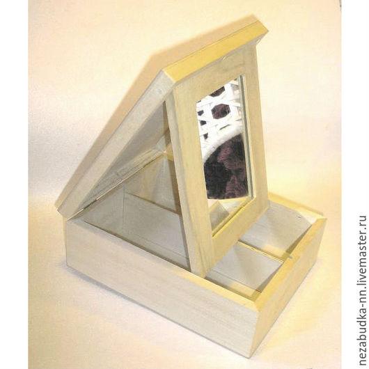 Шкатулка с зеркалом внутри