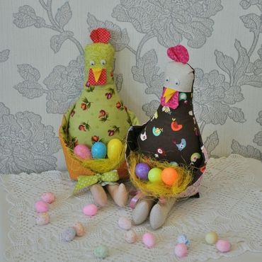 Куклы и игрушки ручной работы. Ярмарка Мастеров - ручная работа Курочка пасхальная. Пасхальный декор. Handmade.