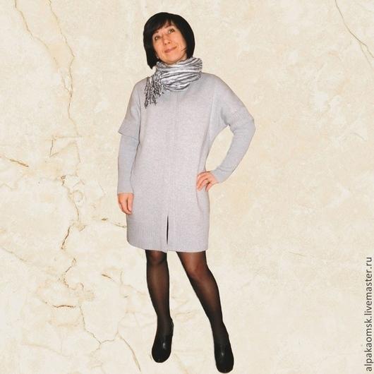 Кофты и свитера ручной работы. Ярмарка Мастеров - ручная работа. Купить кардиган со съемными рукавами. Handmade. Серый