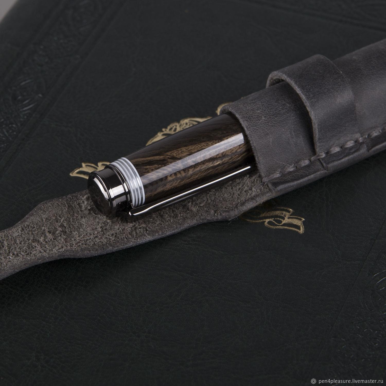 Ручка-роллер Leveche (морёный дуб, рог оленя), Ручки, Санкт-Петербург,  Фото №1