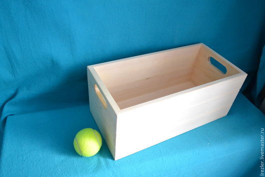Декупаж и роспись ручной работы. Ярмарка Мастеров - ручная работа. Купить Ящик для хранения( Ящ04/1) -  из  дерева. Handmade. Заготовка, для творчества